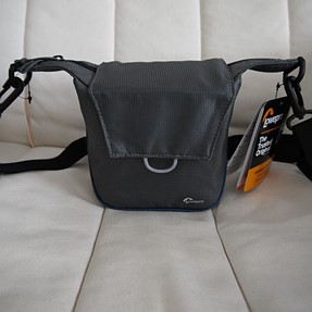 Lowepro Compact Courier 80 camera bag with Panasonic GF3