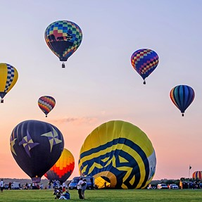 Balloon Festival--To the Max