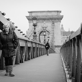 the walk in Budapest