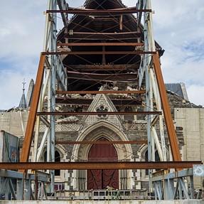 Christchurch EQ damage.