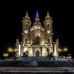 Santuary at night