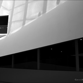 Modern architecture in B&W