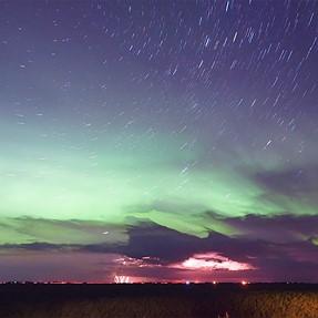 Aurora from the Prairies