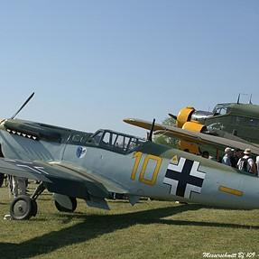 WW2 BF 109 static