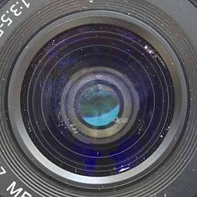 Lens cleaning question