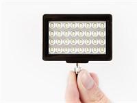 Pocket spotlight illuminates your smartphone scene