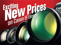 Canon USA drops prices on 31 high-end L lenses