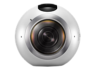 Samsung Gear 360 records spherical video and stills