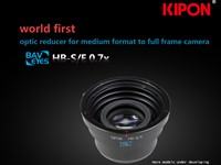 Kipon to launch reducer to mount medium format lenses on full frame cameras