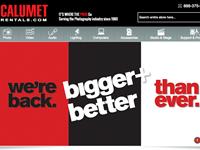 Calumet brings equipment rental service online