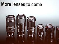 Sony shows off upcoming full-frame lenses at Photokina