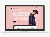Adobe Portfolio brings customizable personal websites to Creative Cloud