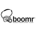 BOOMR camera strap features unique bungee design