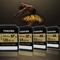 Toshiba expands its Exceria Pro SD card line to include 64GB and 128GB models