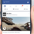 Facebook launches 360-degree video