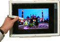"Panasonic demos 20"", 4k tablet with high color accuracy"