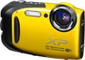 Rugged Fujifilm FinePix XP70 offers Wi-Fi, Full HD video