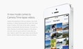 New camera app features in Apple's iOS 8