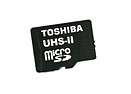 Toshiba unveils UHS-II Class 3 microSD memory cards