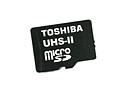 Toshiba unveils UHS-II Class 3 microSD memory cards