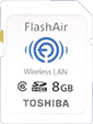 "Toshiba announces its first ""Flash Air' WiFi SDHC card"