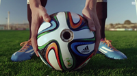 Roll with it: Official World Cup ball goes HD