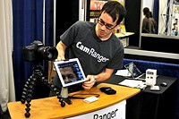 CamRanger offers DSLR control from your iPad