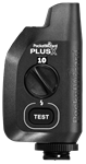 PocketWizard PlusX transceiver for wireless flash and camera triggering