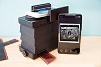Film scanner employs smartphones to digitize negatives