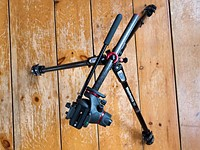 Manfrotto 190 Series Carbon Fiber Tripod Review