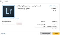 Adobe leaks 'Lightroom Mobile' app