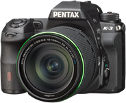 Ricoh announces Pentax K-3 24MP DSLR with selectable low pass filtering