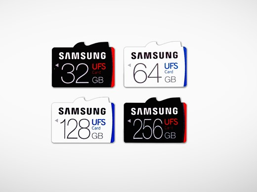 Samsung launches first removable UFS memory cards 2