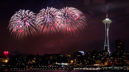 Photographing fireworks: The basics and then some 5