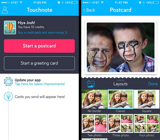 You've got mail: Five photo postcard apps tested 2