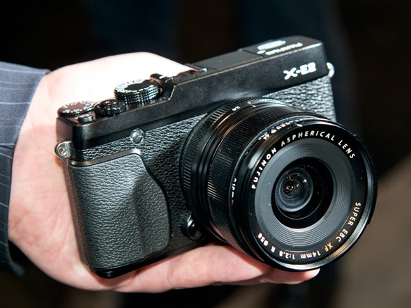 PPE 2013: Hands on with Fujifilm's newest cameras