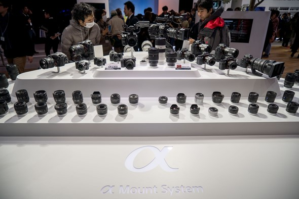 CP+ 2016: Sony stand report and G Master action