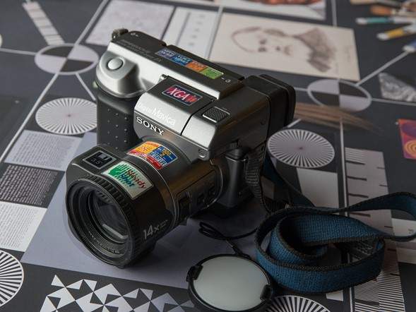 Blast from the Past: Digital camera timeline at PIX 2015