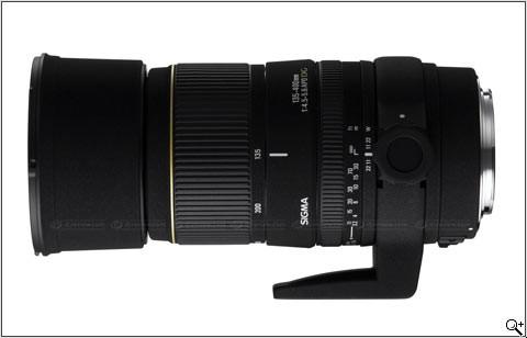 Sigma 135-400mm F4.5-5.6 DG lens