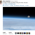Tweets from space: Photos share astronaut's view
