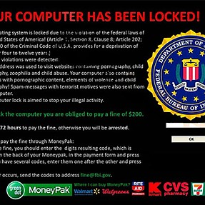 FBI Moneypack Ransomeware