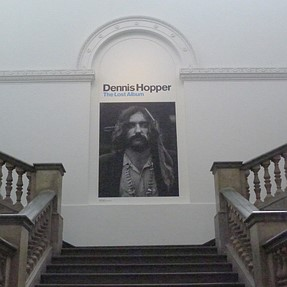Dennis Hopper at the RA