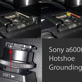 The Sony a6000 Hotshoe connectivity guide
