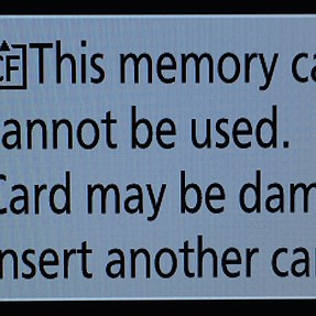 Memory Card Issue - D810 - Beware
