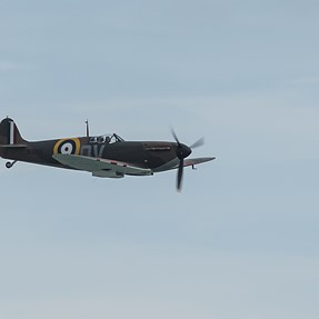 Spitfire, Tutor and Lynx @ Eastbourne Airshow (A77m2)