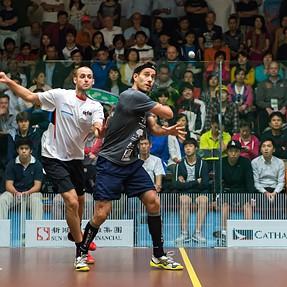 HK Squash Open 2014 Men's QF - (ESP) Borja Golan 3:0 Nicolas Mueller (SUI)