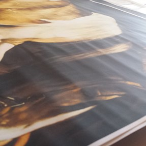 Canon IPF 8300 - Paper wrinkles when printing dark colors.
