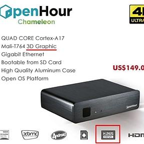 OpenHour 4k+HEVC