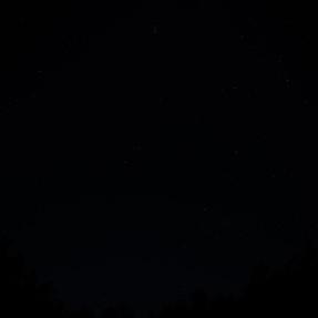 D810 Dynamic Range test - Dark night sky shot at ISO 64 recovered