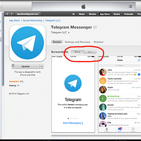 Can't install Telegram on Desktop.